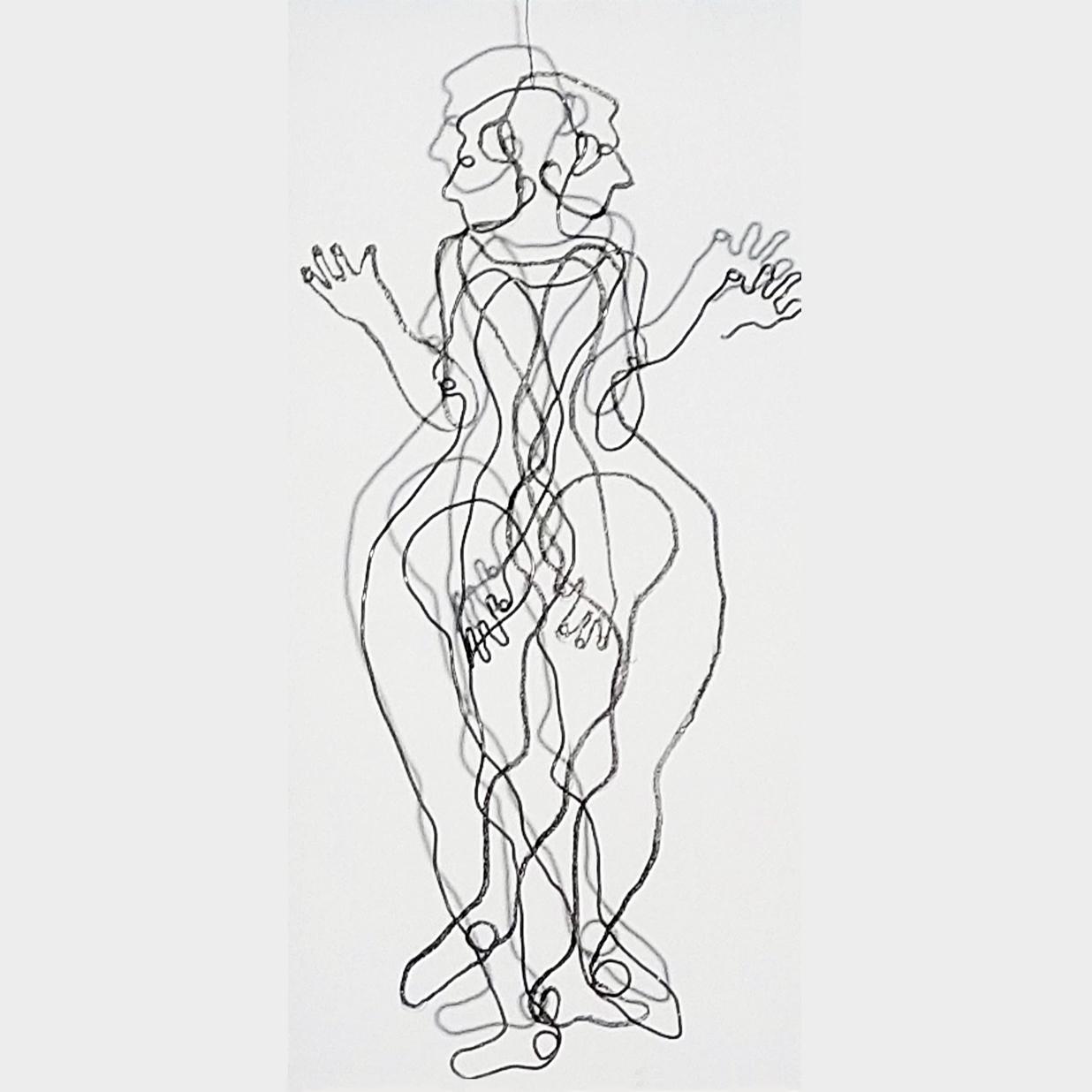 dancingdochter_van_Zeus, 25 x 50 cm, 2019