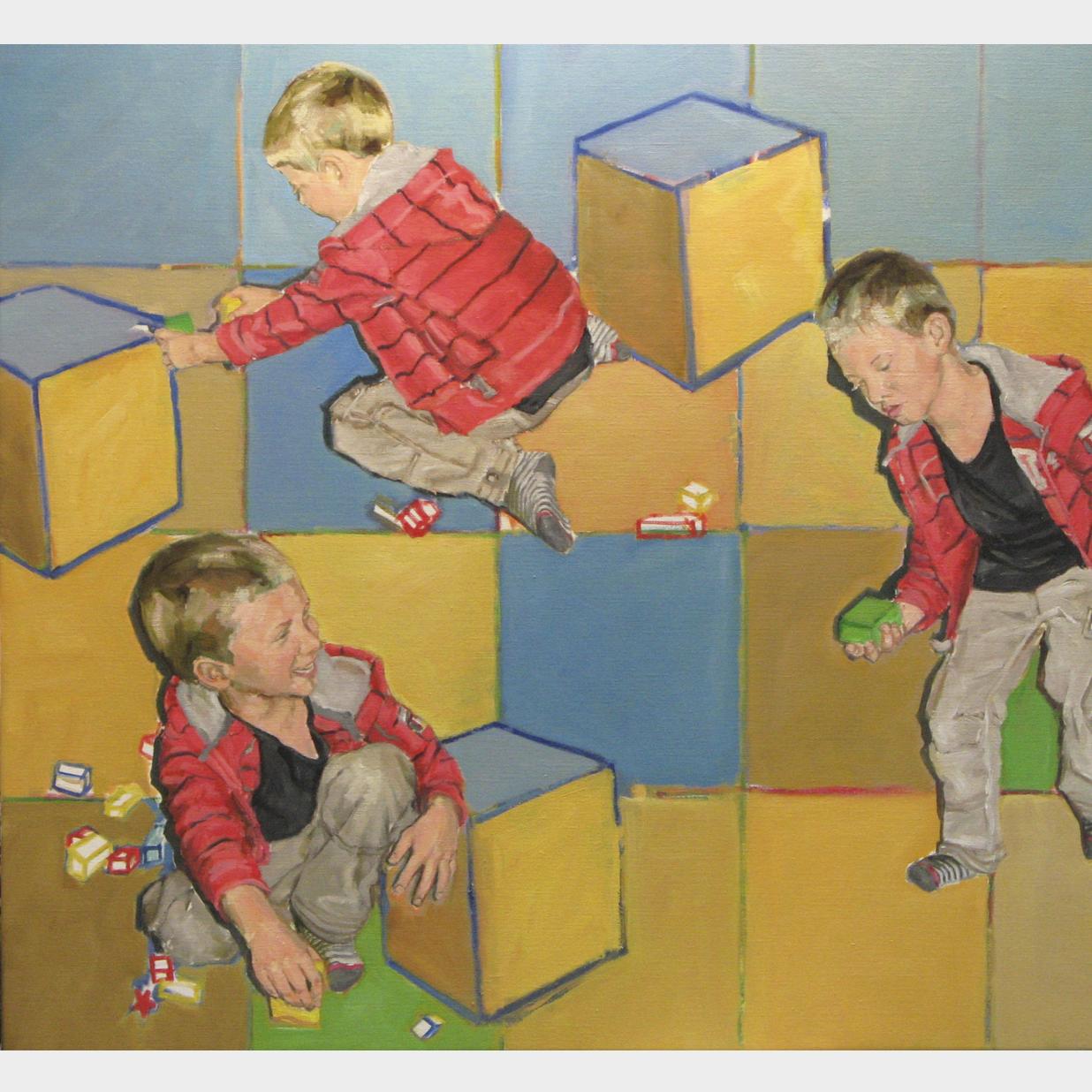 Jelle, olieverf op linnen, 90 x 100 cm, 2012