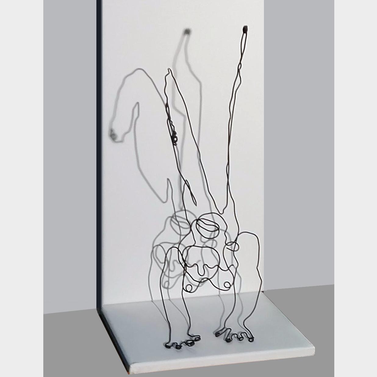 woman_in_balance, 30 x 24 x 50 cm, 2020